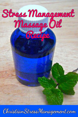 Stress management massage oil recipe for couples massage