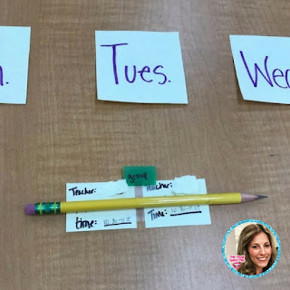 speech therapy scheduling ideas for the school slp