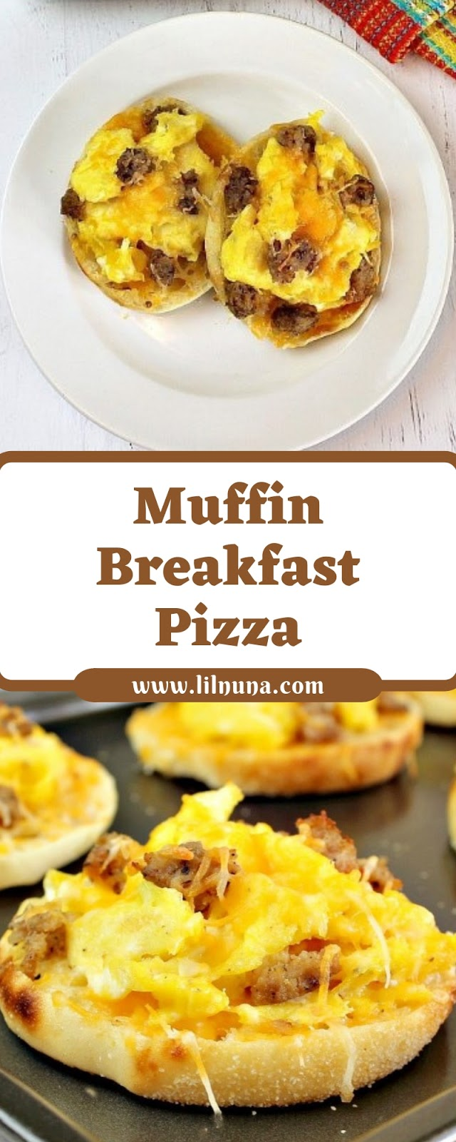 Muffin Breakfast Pizza