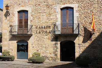 Medieval village of Pals in La Costa Brava