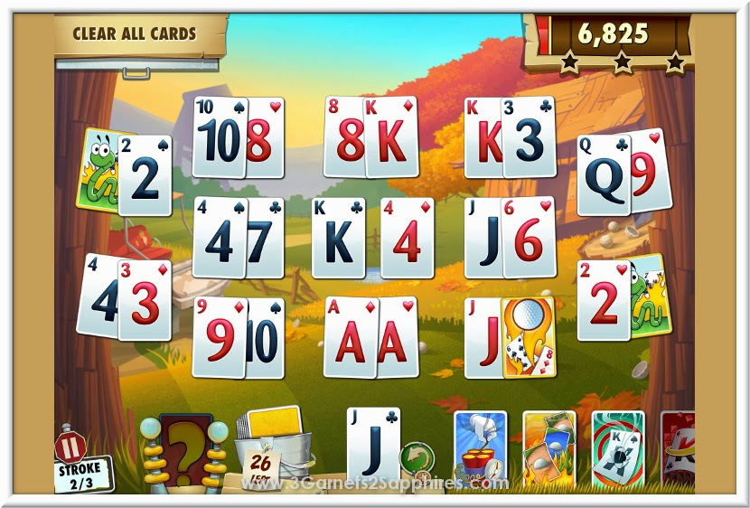 Fairway Solitaire Blast Game App from #BigFishGames