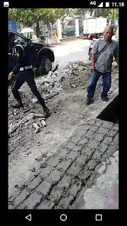 Preman dan Oknum Sekuriti Ruko Seribu Cengkareng Dibekuk Resmob Polres Jakbar