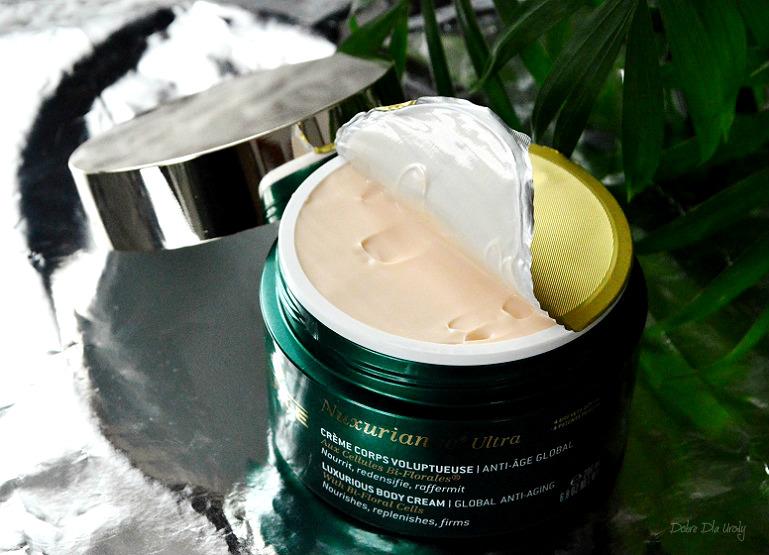Nuxe Nuxuriance® Ultra Luksusowy krem do ciała o globalnym działaniu przeciwstarzeniowym recenzja