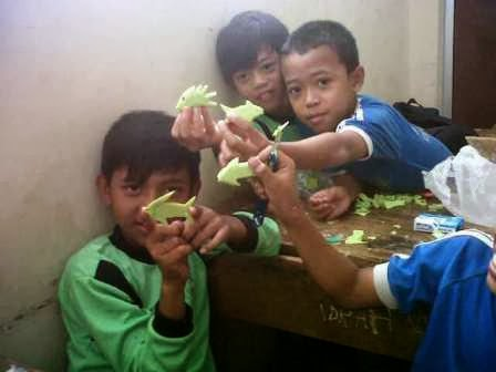 kerajinan tiga dimensi untuk anak SD (Guru Pantura)