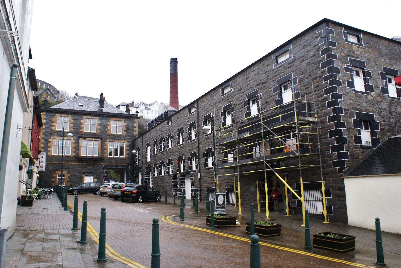 distillery oban argyll highlands scotland uk great britain camomille blend