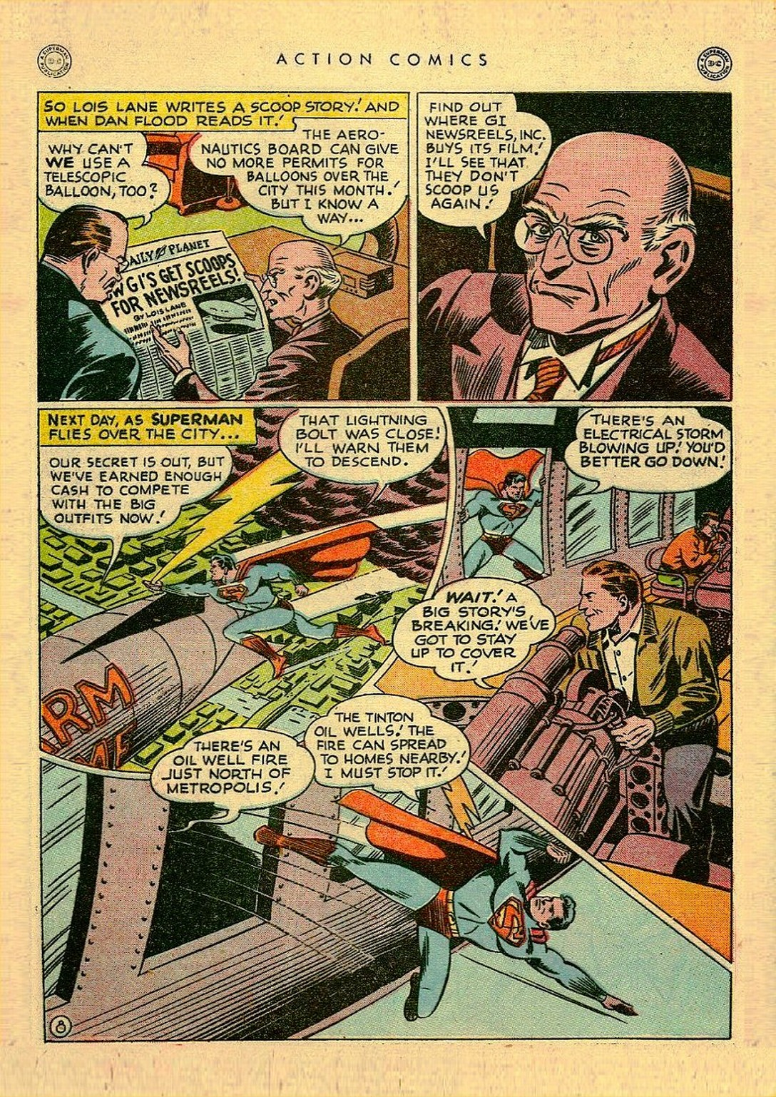 Read online Action Comics (1938) comic -  Issue #111 - 10