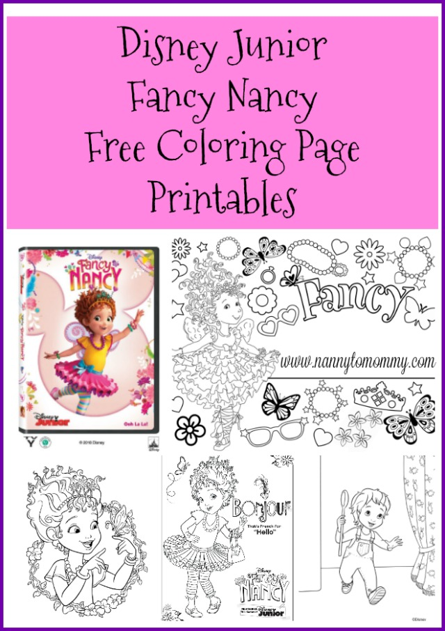 Fancy Nancy Volume 1 Coming to DVD November 20th! + Free Printables