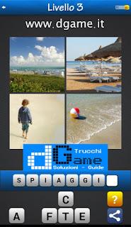 PACCHETTO 6 Soluzioni Trova la Parola - Foto Quiz con Immagini e Parole livello 3