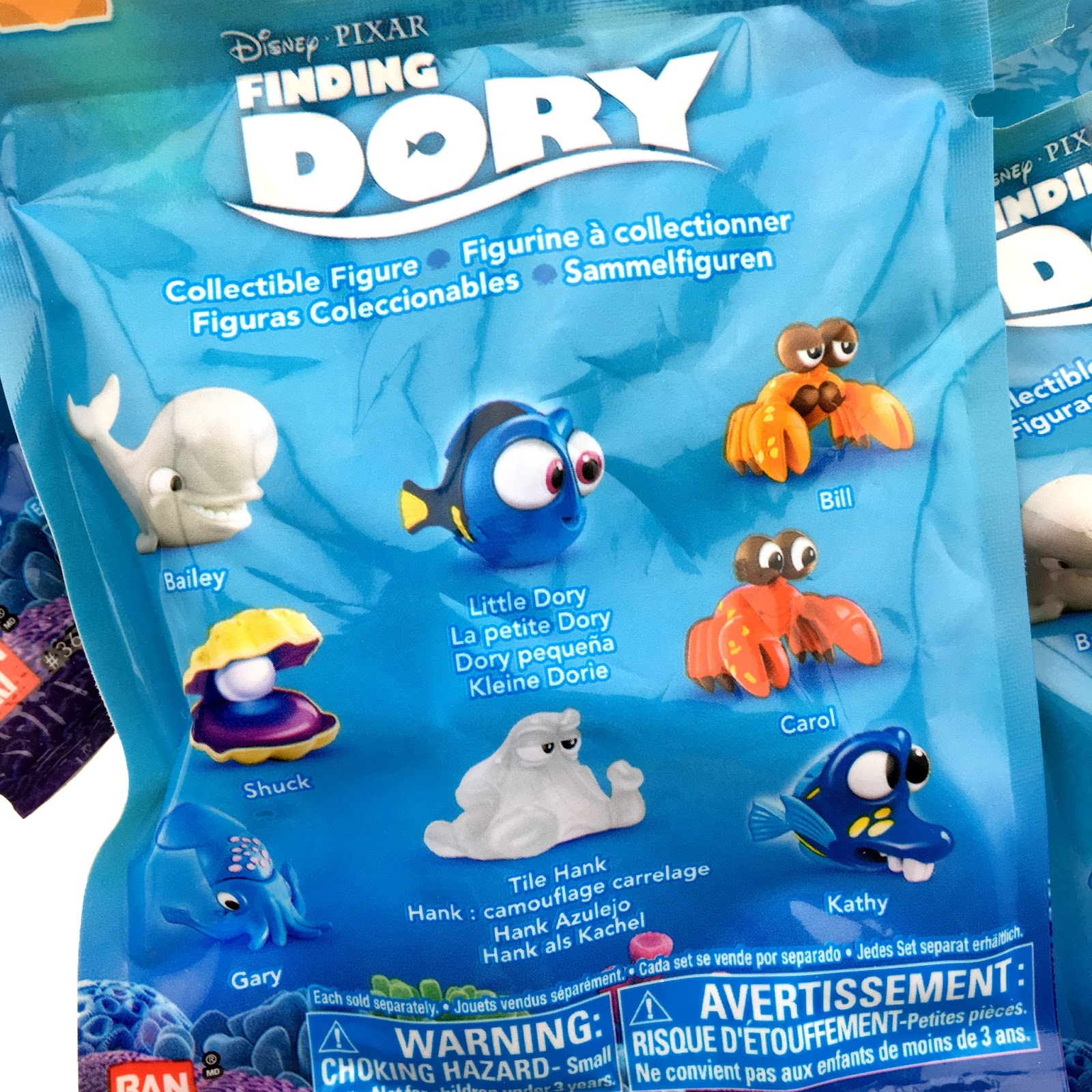 "Finding Dory Collectible Figure ""Blind Bags"" Series 4"