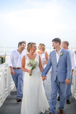 Marina wedding at South Seas Resort on Captiva