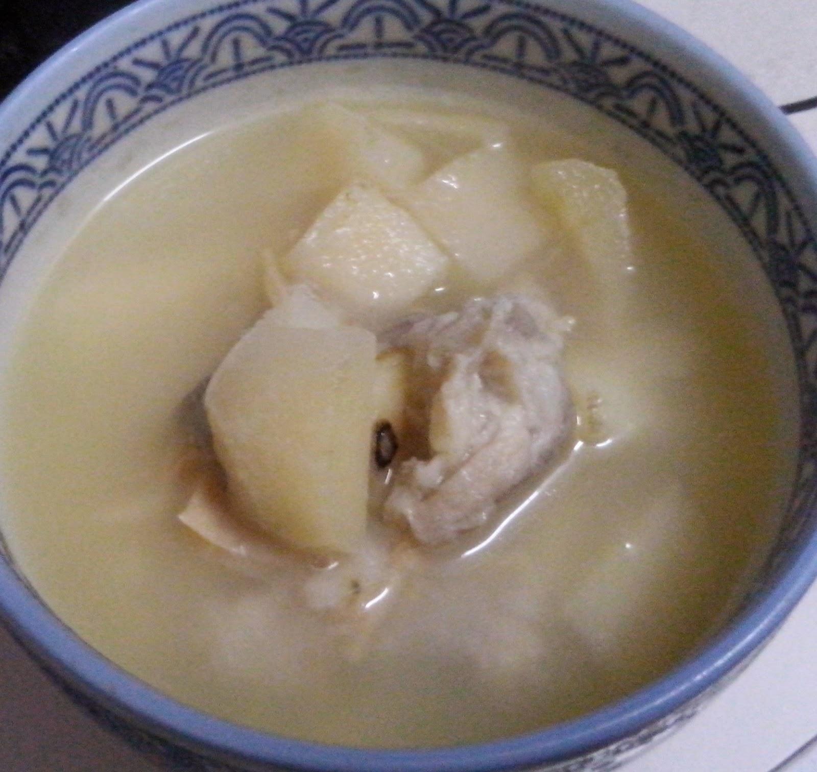 甜心屋: 鮮百合蓮子馬蹄瑤柱瘦肉湯