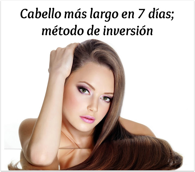cabello mas largo metodo de inversion