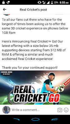 Real Cricket 18 Lite
