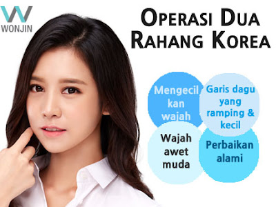 operasi dua rahang korea