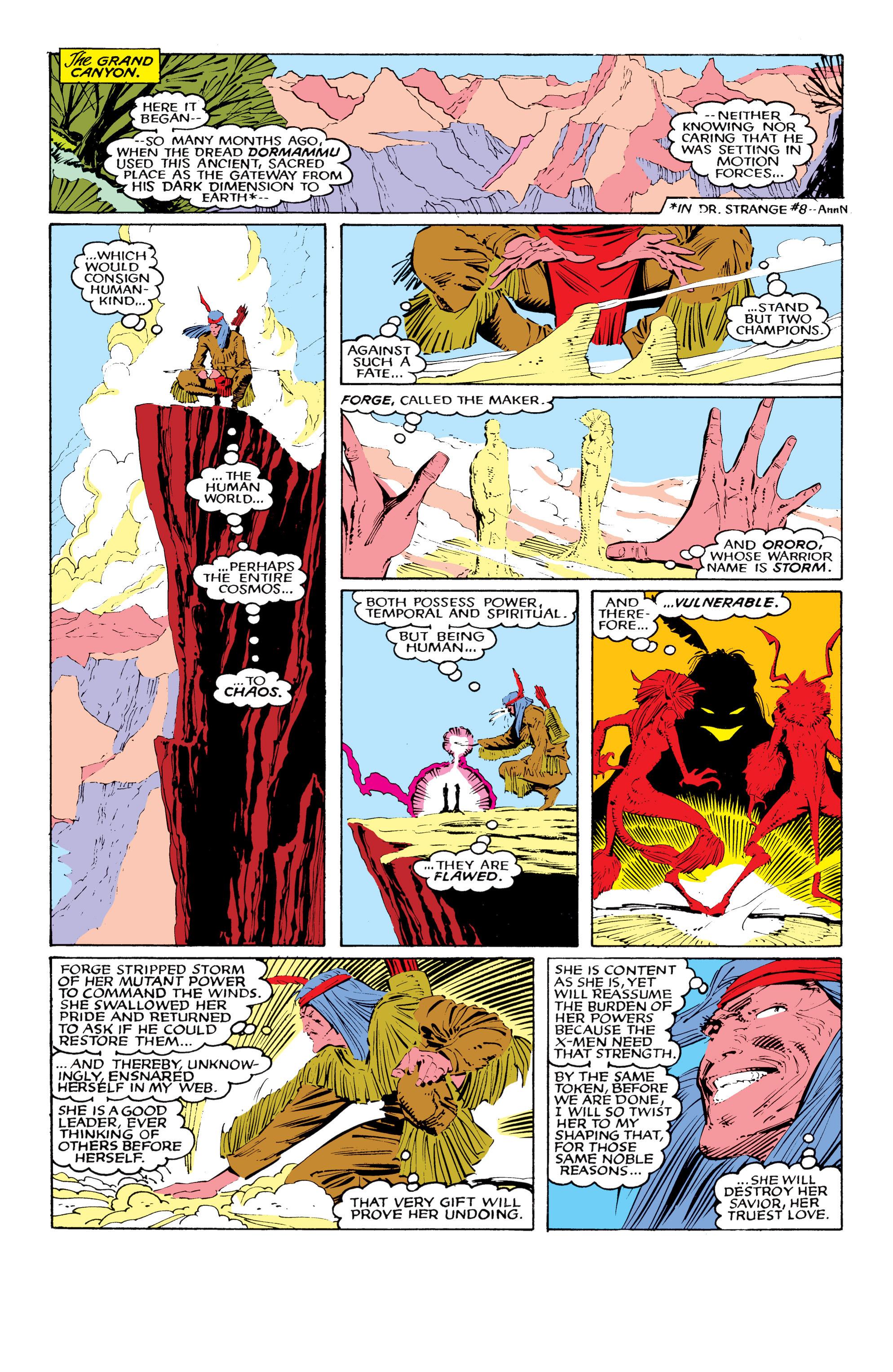 Read online Uncanny X-Men (1963) comic -  Issue #221 - 9