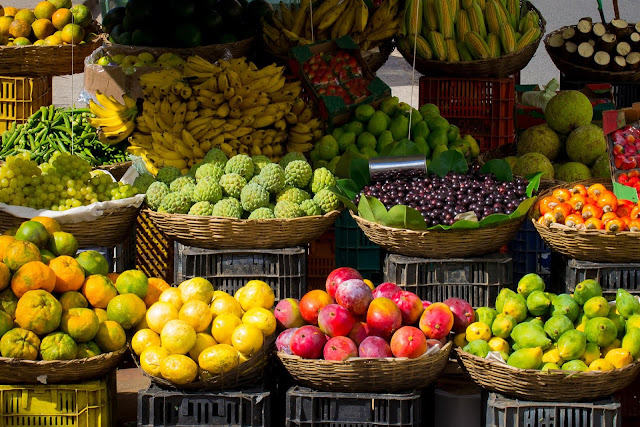 Top Fruits Market HD Wallpaper