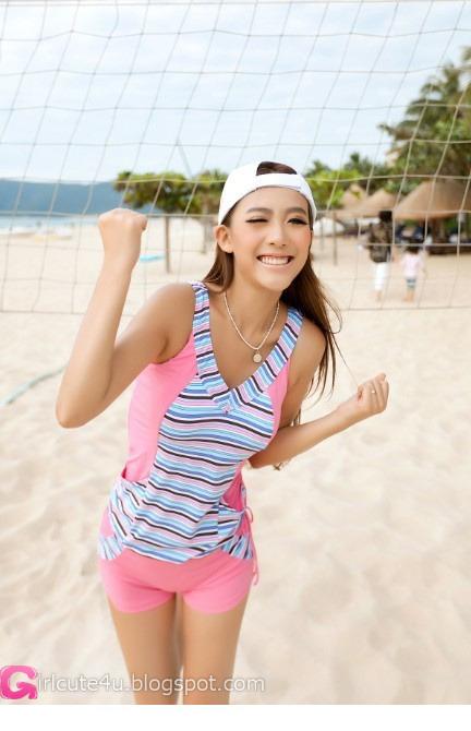 Variety Especially To Enthusiasm Beach  Cute Girl - Asian -7232