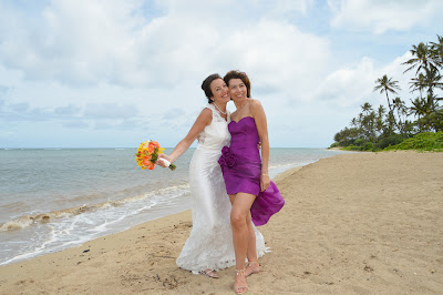Bridesmaids in Hawaii
