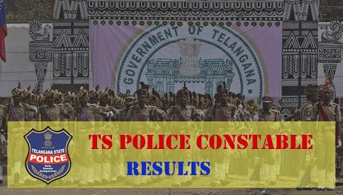 Telangana TS Police Constable Results