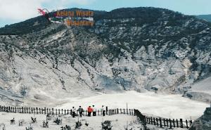 Berwisata ke Bandung : Jalur Transportasi dan Harga Tiket Kawah Tangkuban Perahu