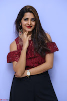 Pavani Gangireddy in Cute Black Skirt Maroon Top at 9 Movie Teaser Launch 5th May 2017  Exclusive 094.JPG