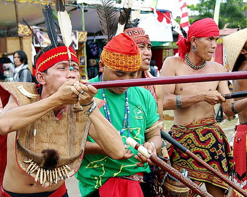 Tinuku.com Travel Gawai Dayak Week in Pontianak celebrate thanksgiving to Jubata conducted by Dayaks tribe culture