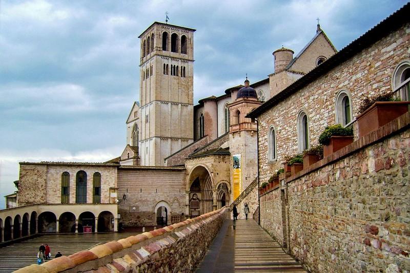 St Francis Di Assisi Chapel, Umbria, Italy