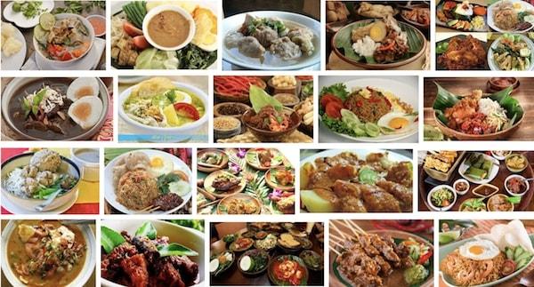 Kuliner Indonesia yang terkenal di dunia
