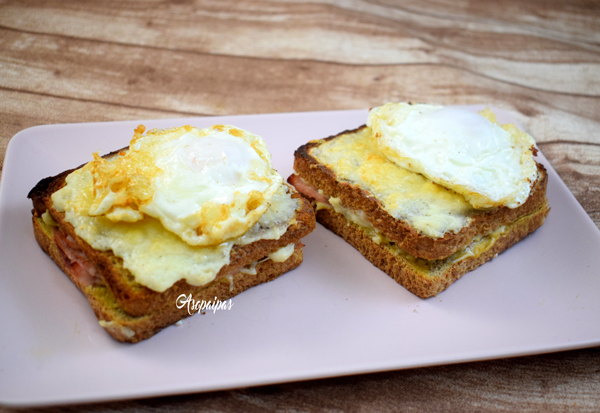 Croque Madame. Vídeo Receta