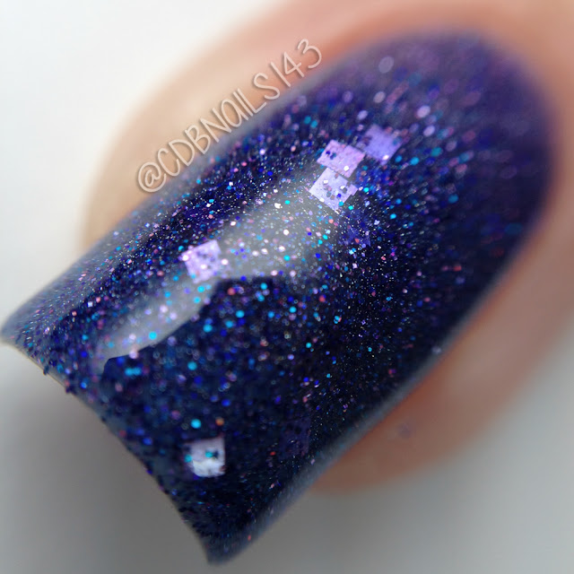 Gothic Gala Lacquer-Krystal Sparkle