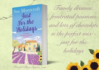 Sue Moorcroft author France et Moi interview French Village Diaries