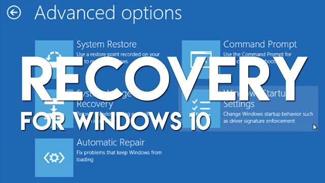 Inilah Cara Termudah Masuk Recovery Mode Pada Windows 10