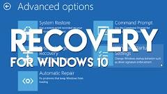 Cara Masuk Ke Hidangan Recovery (Safe Mode) Pada Windows 8 / 10