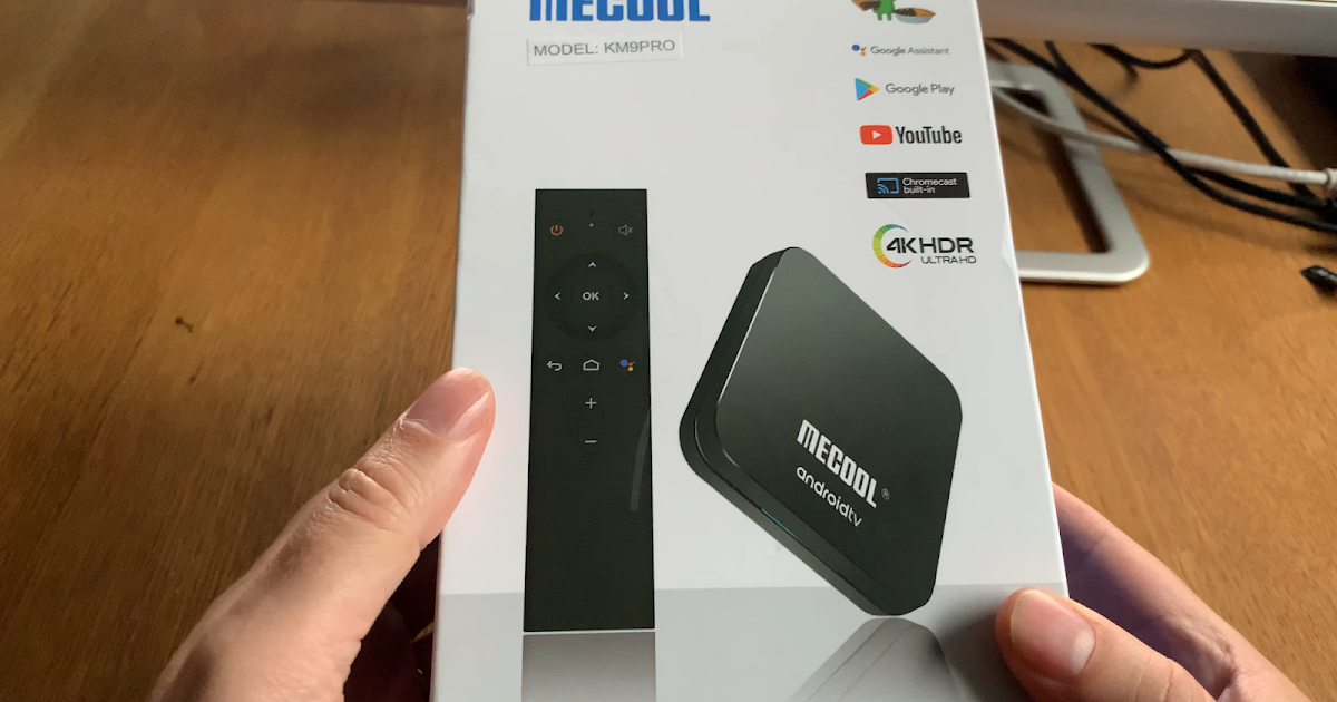 Mecool KM9 PRO Google certified Android TV Box unboxing