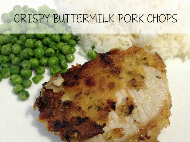 CRISPY BUTTERMILK PORK CHOPS