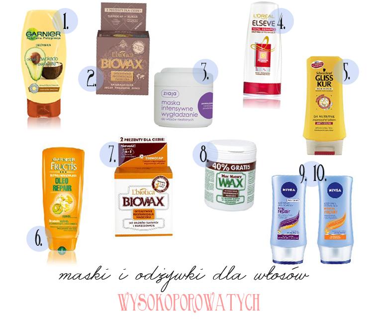 MUST HAVE - odżywki i maski do włosów wysokoporowatych - Czytaj więcej »