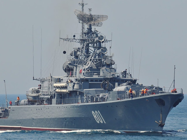 Russia Starts Developing New Generation of Frigates