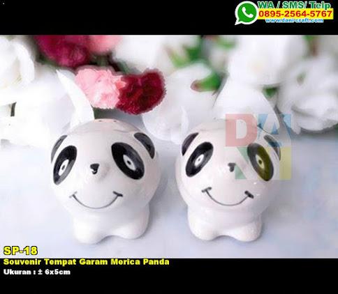 Souvenir Tempat Garam Merica Panda