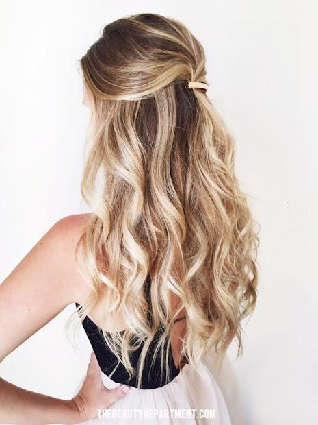 bridal hairstyles with balayage