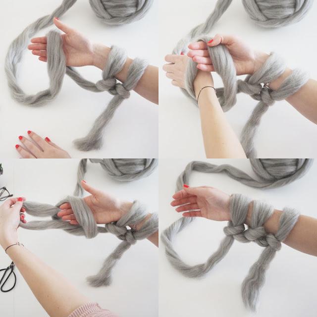 Giant Knitting Tips