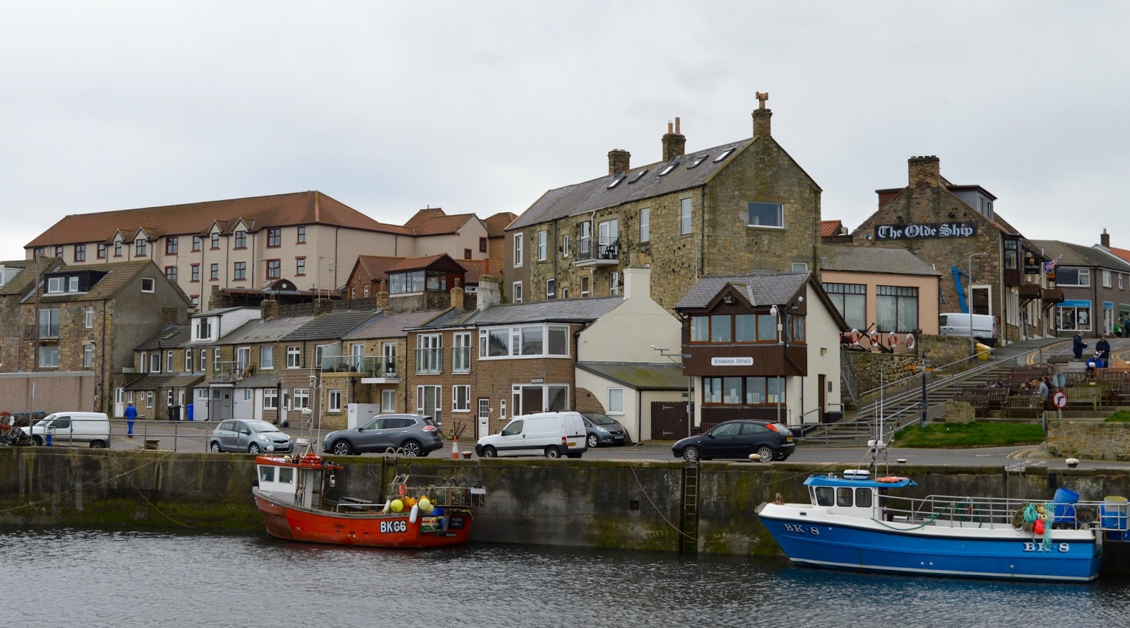 How to spend 24 hours in the Northumbrian coastal villages of Seahouses & Beadnell with the Coach House Bed & Breakfast - harbour