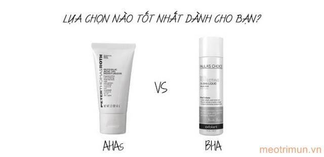 Chăm sóc da chuyên sâu với AHA & BHA
