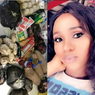 Nigerian Lady Causes A Stir Online After Posting Photo Of Items She Reportedly Bought From The Market With Just N2, 500