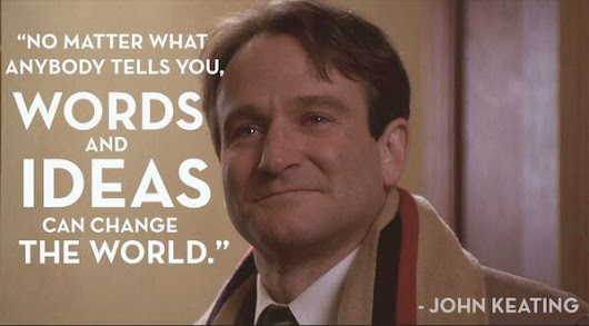 Robin Williams: A Bibliophile's Good-Bye