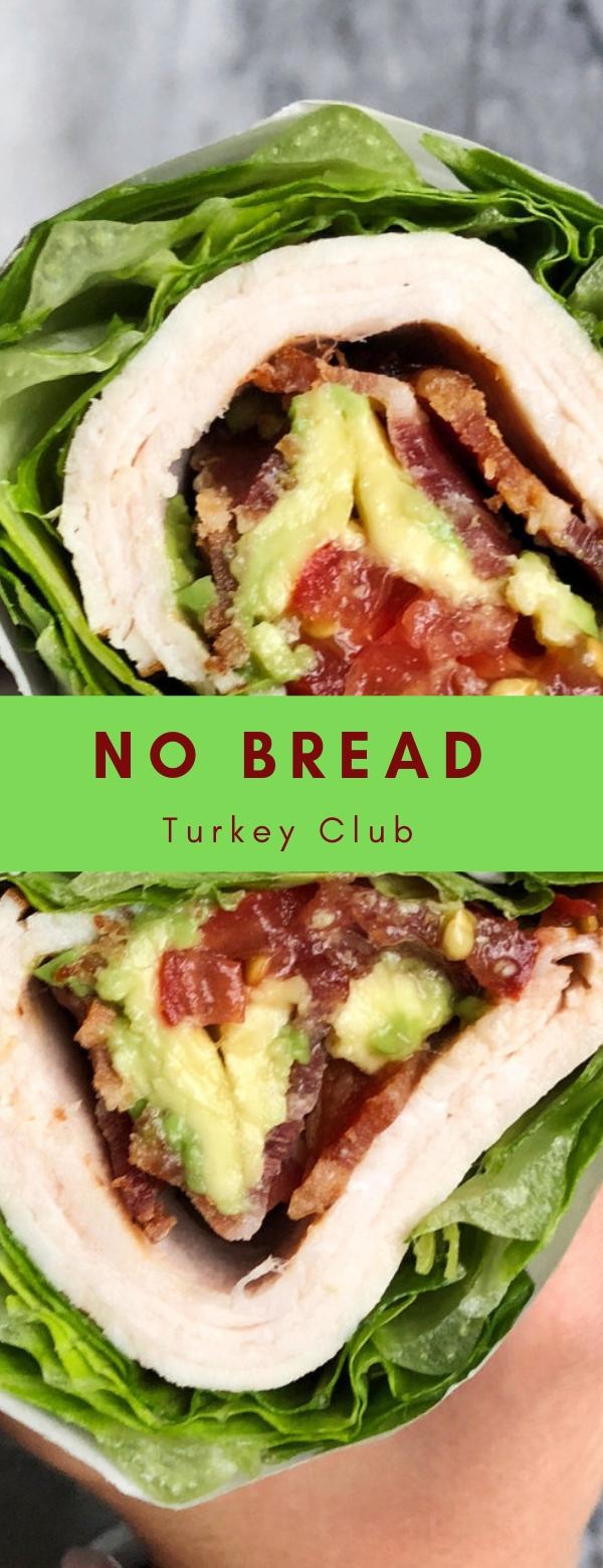 No Bread Turkey Club  #sandwich #keto #vegan