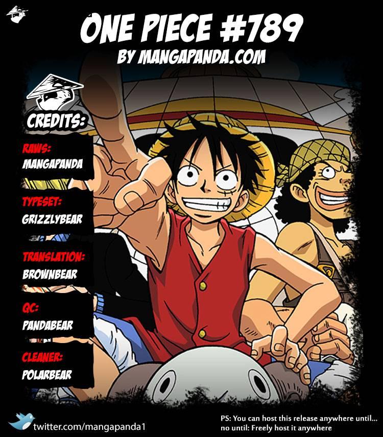 One Piece Ch 789: Lucy!!