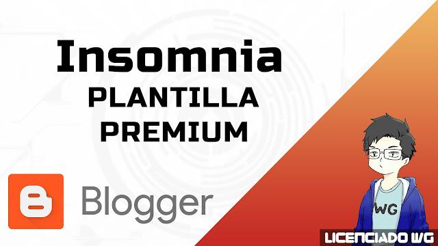 Insomnia Blogger Premium Gratis