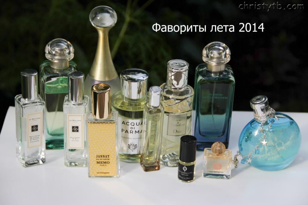 Фавориты лета 2014: парфюмы