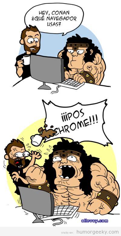 Meme de humor sobre Conan