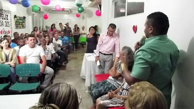 Servidores públicos do Hospital Geral Gentil Filho e do PAM recebem homenagem em alusão ao Dia dos Pais